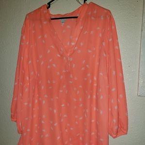Fluorescent blouse